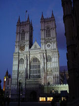 """Westminster Abbey by night"" von Cum Deo"