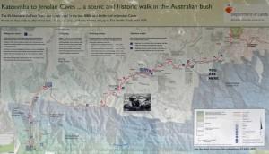 Six Foot Track Map